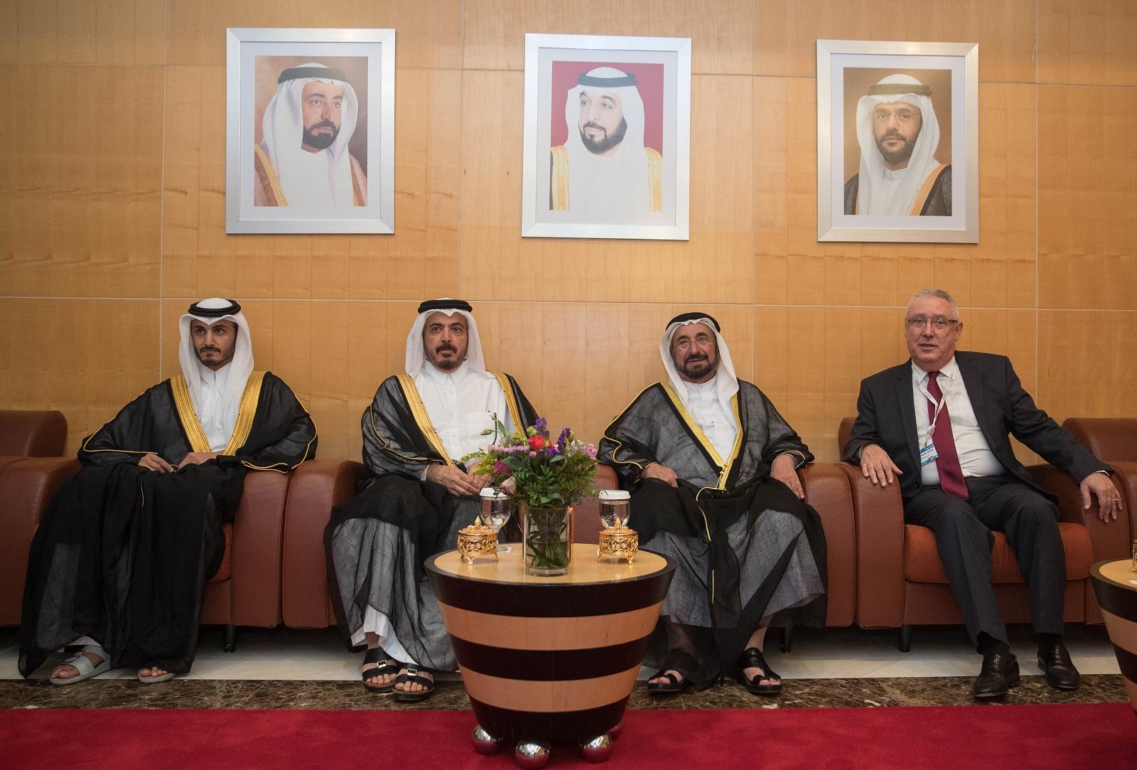 حاكم الشارقة يفتتح أعمال الجمعية العامة الـ 50 للاتحاد العربي للنقل الجوي