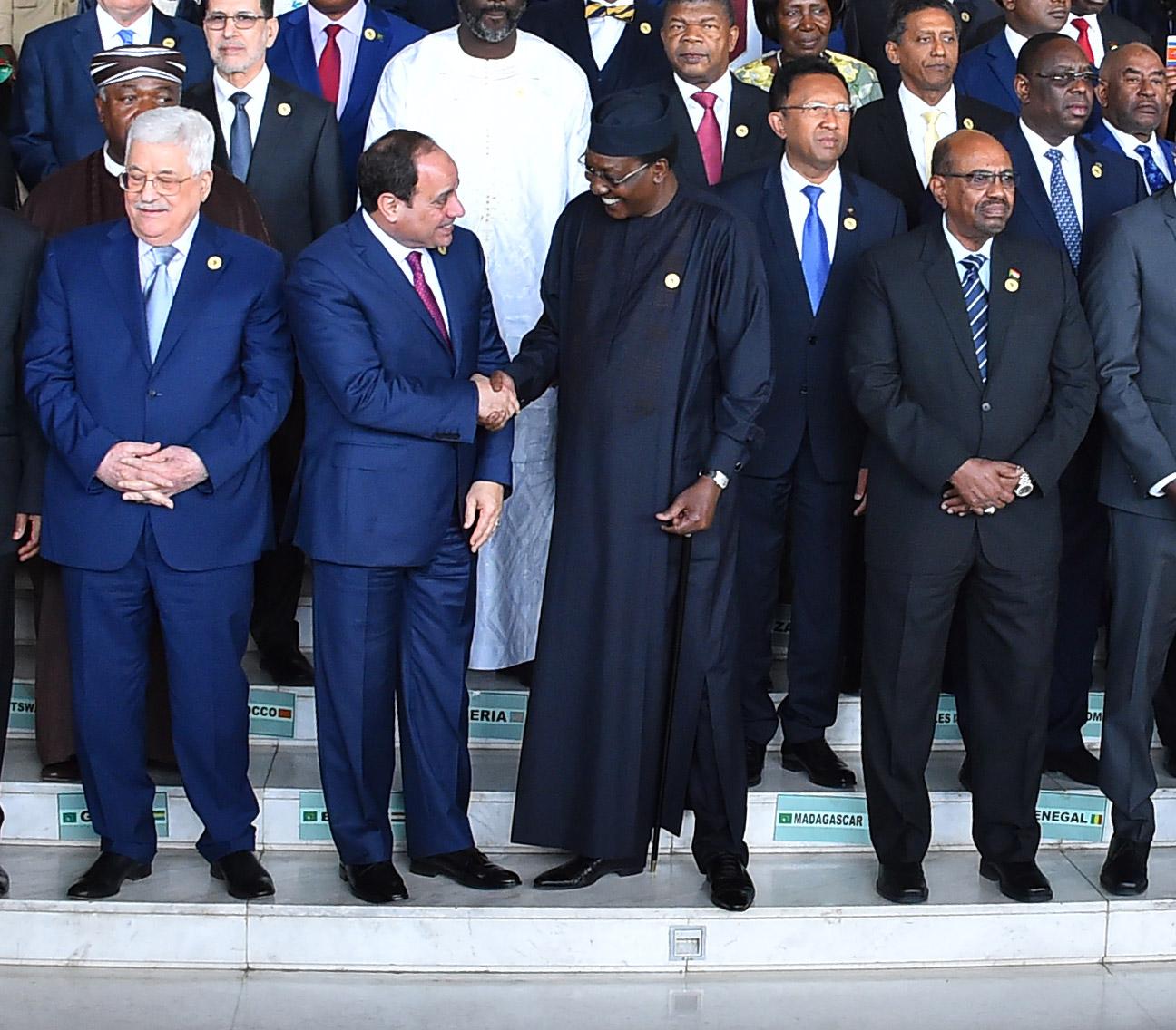 الجلسة الافتتاحية للدورة الـ30 لقمة الاتحاد الإفريقي