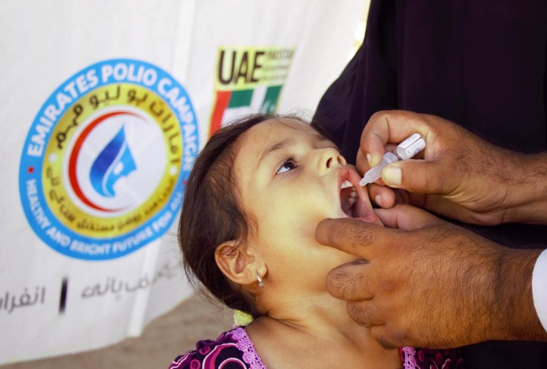 المبادرة العالمية لاستئصال شلل الأطفال تؤكد أن الإمارات أوفت بكامل التزاماتها.. وتشيد بدور محمد بن زايد