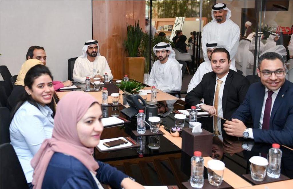 محمد بن راشد يطلع على خطة عمل الشراكة الإستراتيجية بين الإمارات ومصر
