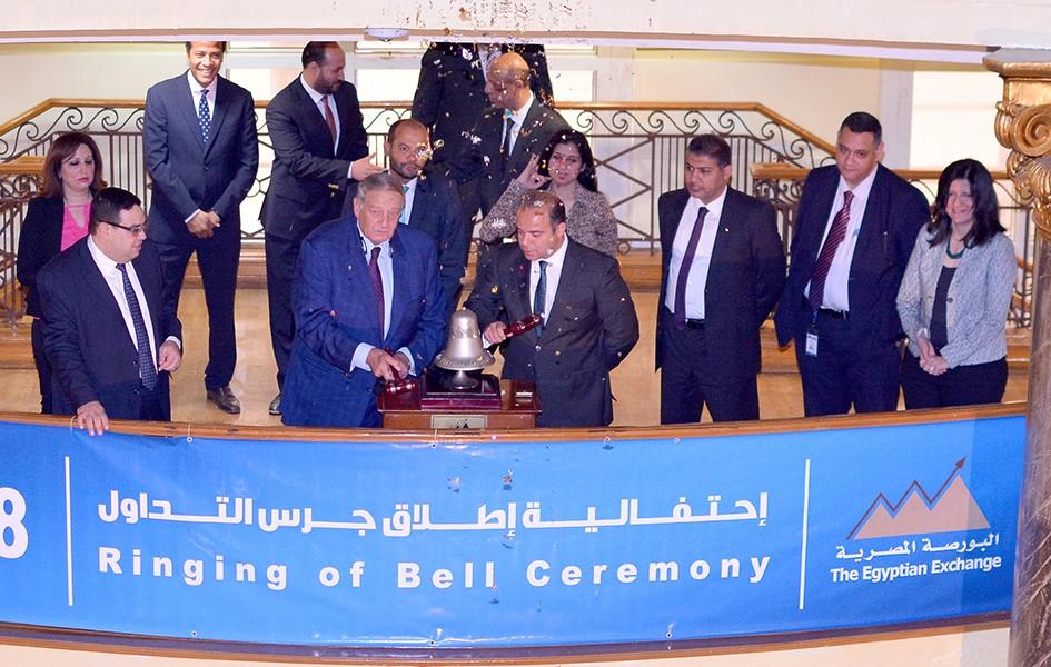 رئيس البورصة المصرية يوقع بروتوكول تعاون مع