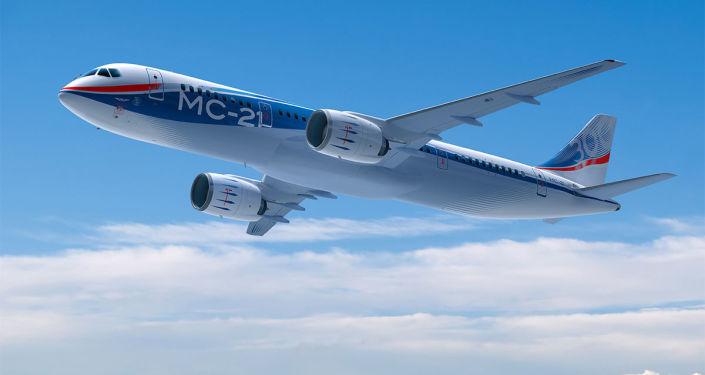 الطائرة МС-21