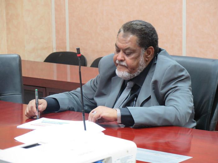وزير المالية السوداني الدكتور محمد عثمان الركابي