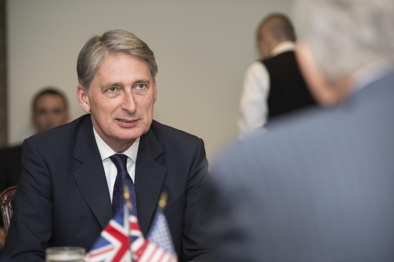 وزير المالية البريطاني فيليب هاموند
