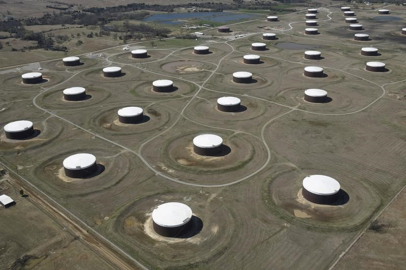 مستودعات لتخزين النفط