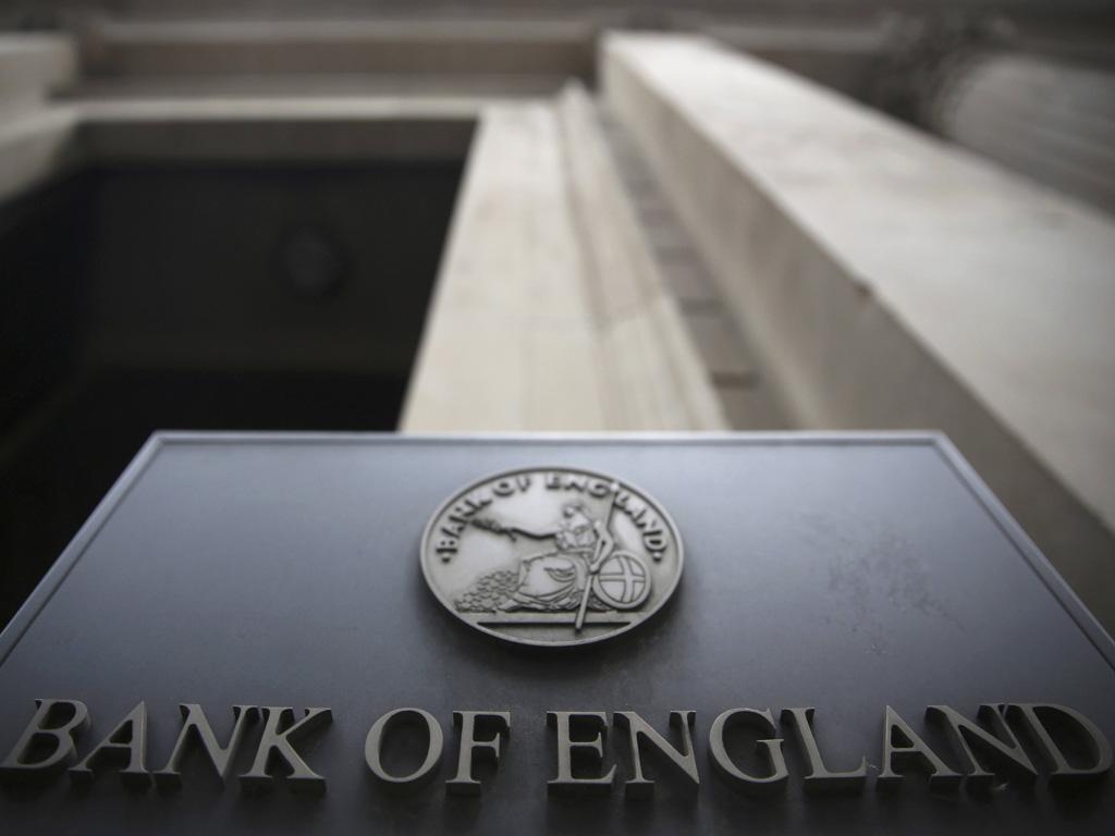 بنك إنجلترا المركزي