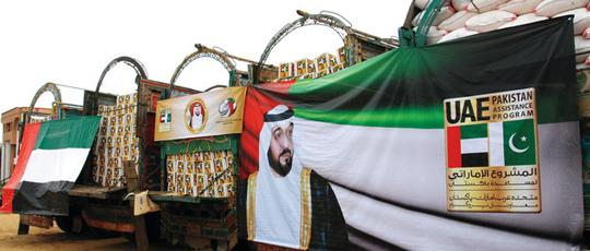 المساعدات الإنمائية الرسمية الإماراتية