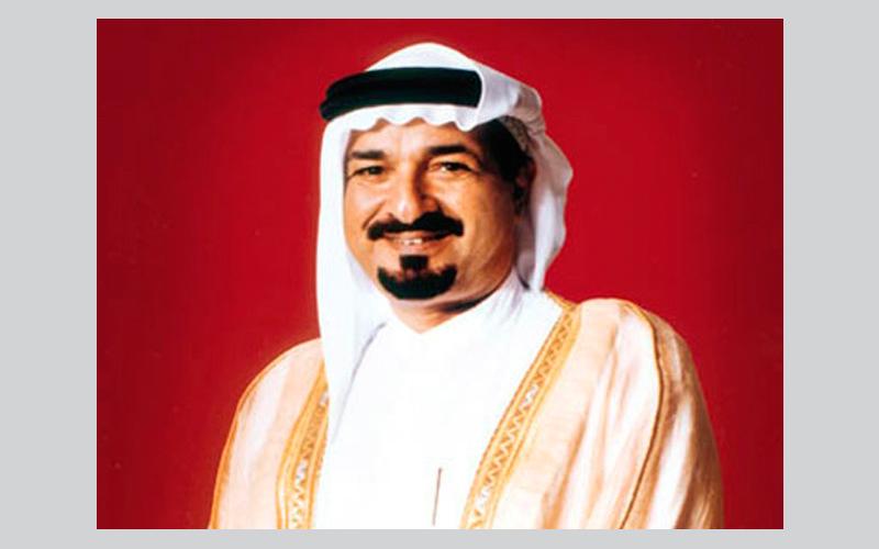 صاحب السمو الشيخ حميد بن راشد النعيمي عضو المجلس الأعلى حاكم عجمان