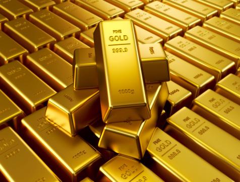 سبائك من الذهب .. صورة ارشيفية