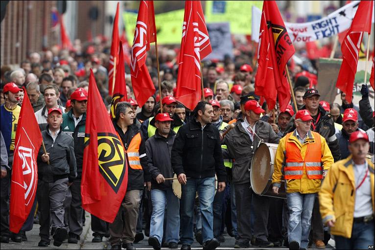 احتجاجات سابقة فى ألمانيا- أرشيفية