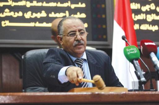 يحيى الراعي رئيسِ مجلس النواب اليمنى