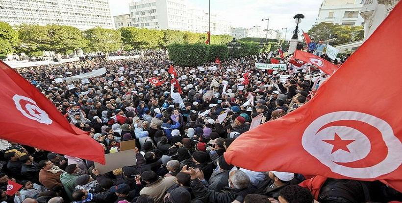 الاحتجاجات بتونس