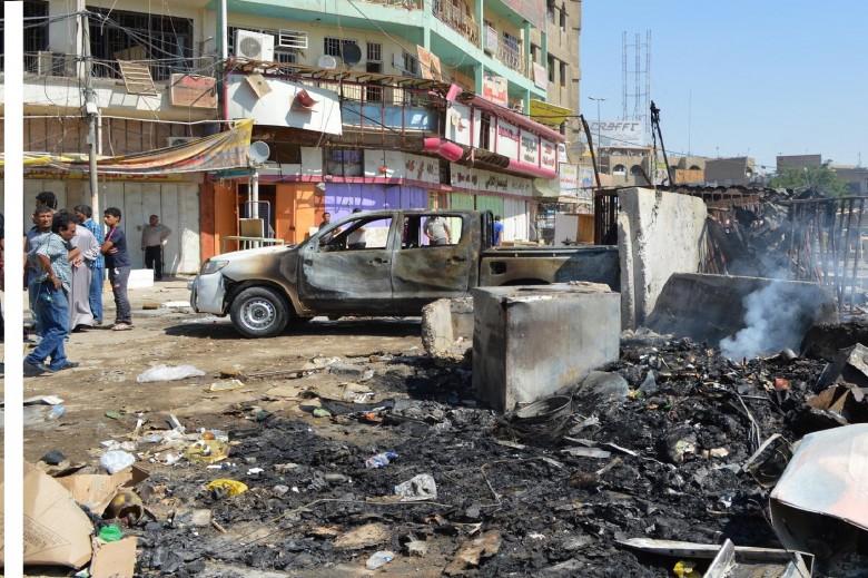 تقجير انتحارى فى بغداد  (أرشيفية)