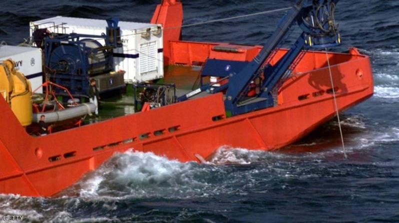 صورة أرشيفية للسفينة المحتجزة