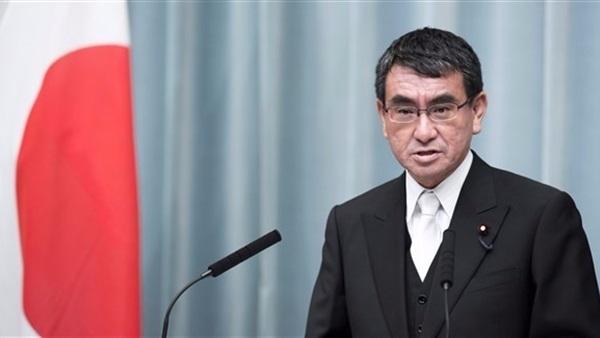 وزير الخارجية الياباني تارو كونو