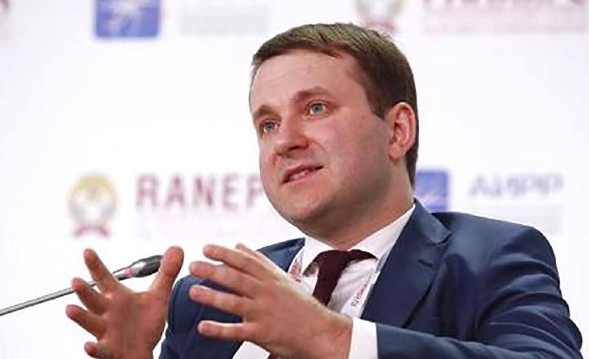 وزير الاقتصاد ماكسيم أوريشكين