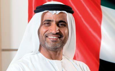 سيف السويدى رئيس هيئة الطيران المدنى الإماراتى