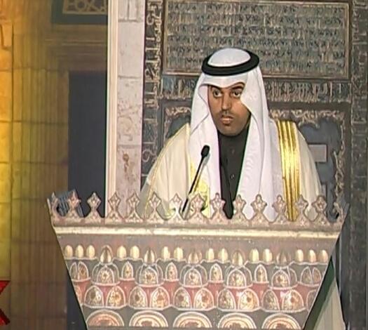 رئيس البرلمان العربي أمام مؤتمر الأزهر العالمي لنصرة القدس