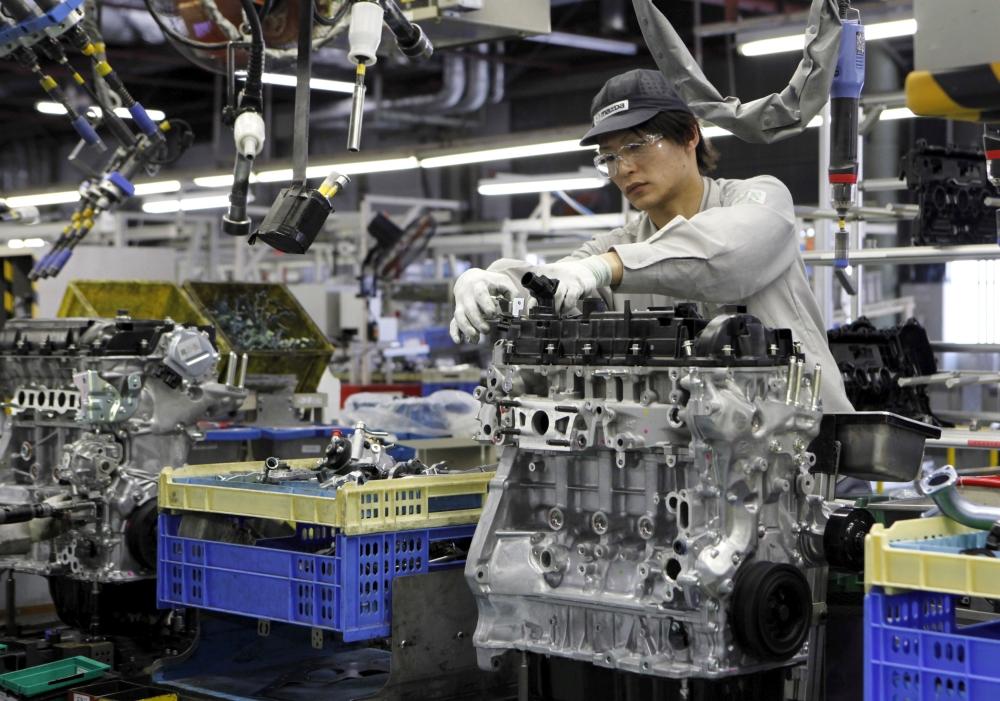 الناتج الصناعي لليابان