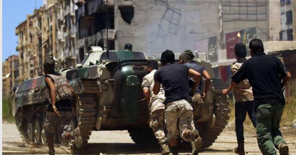 قوات من الجيش الوطني الليبي