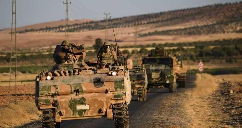 مركبات عسكرية تركية في سوريا.. أرشيفية