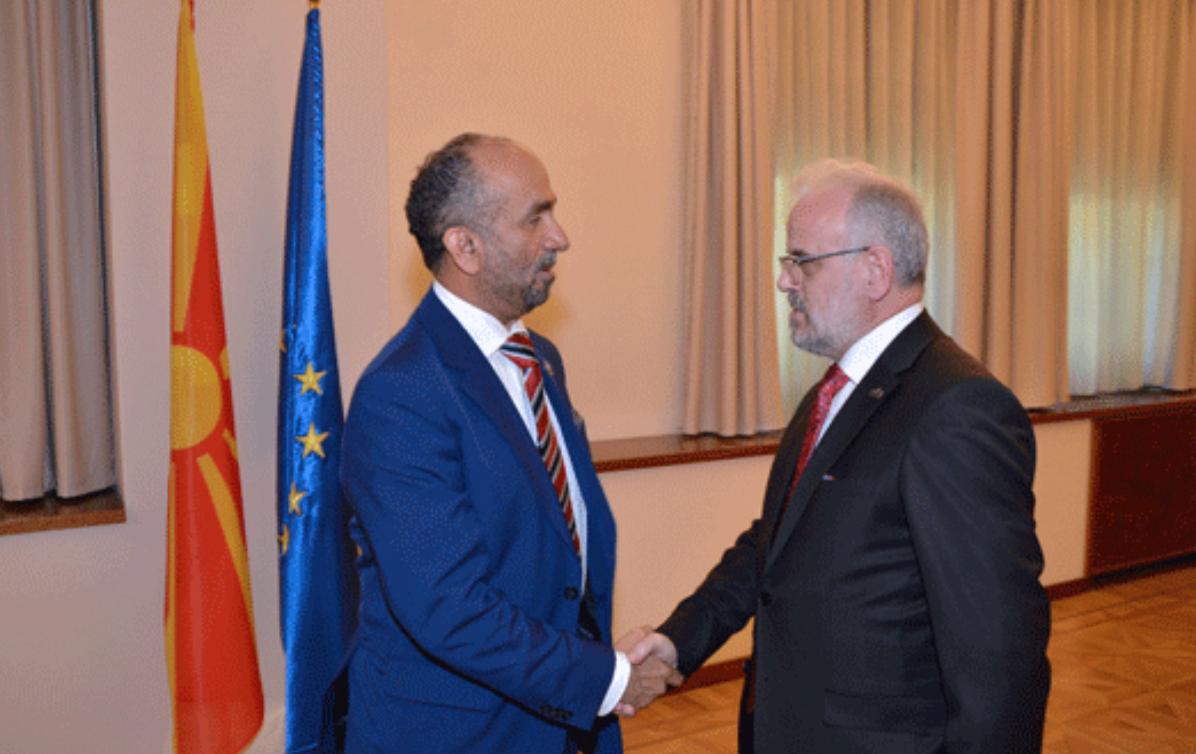 رئيس مقدونيا يؤكد دعمه المجلس العالمي للتسامح والسلام