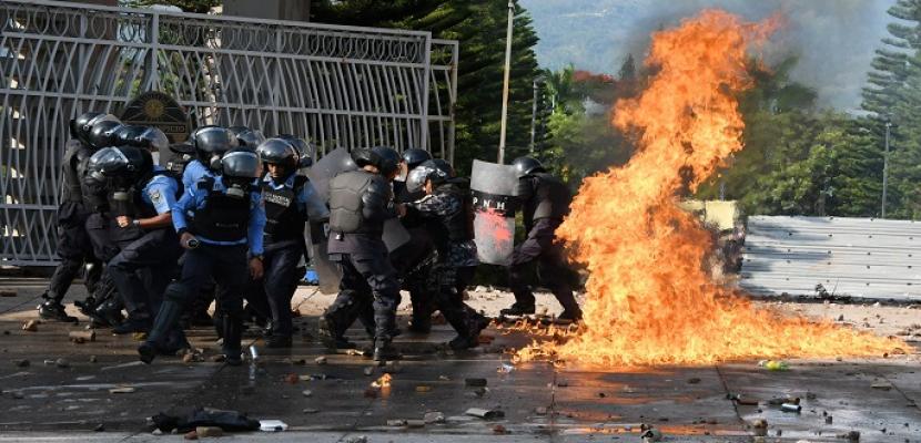 اشتباكات في هندوراس