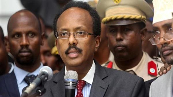 الرئيس الصومالي محمد عبد الله