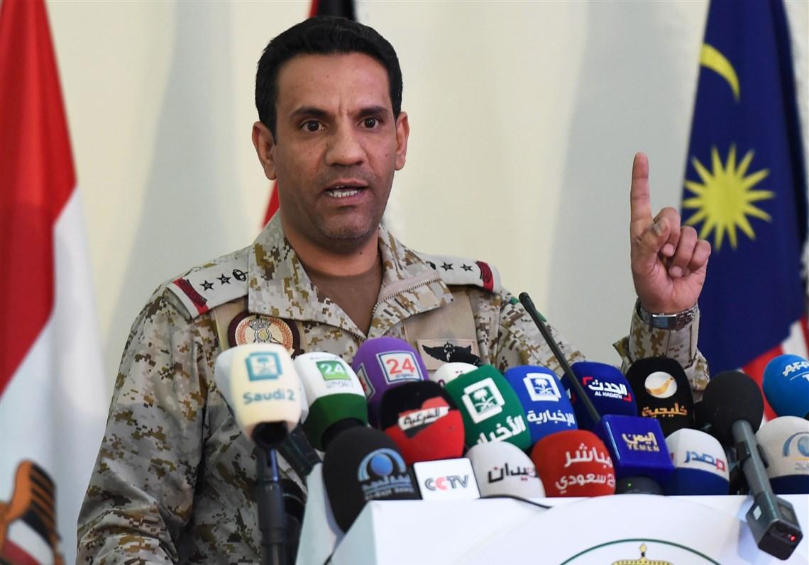 الناطق باسم التحالف العربي لدعم الشرعية في اليمن العقيد تركي المالكي