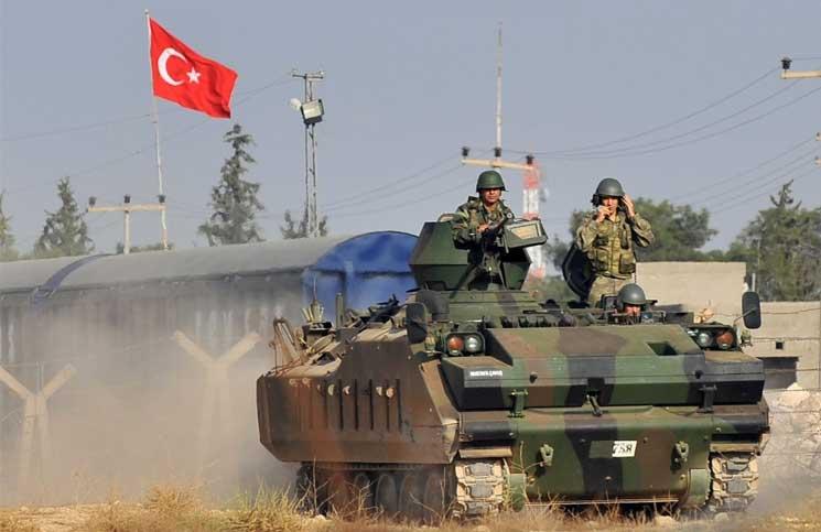 عناصر من الجيش التركى