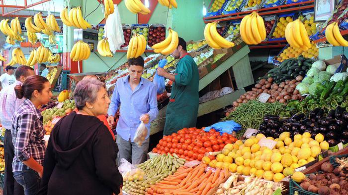 سوق في المغرب صورة أرشيفية