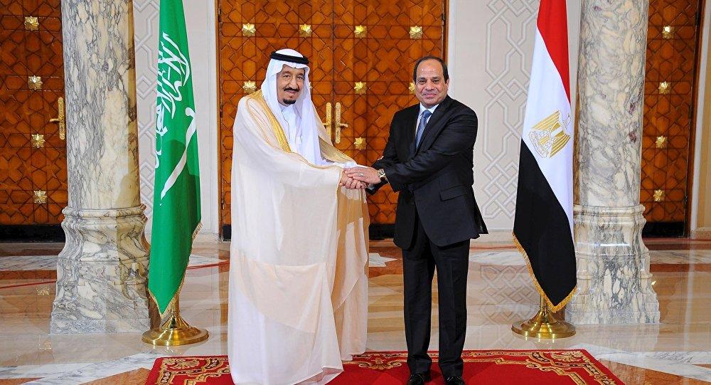 الملك سلمان بن عبد العزيز والرئيس السيسى