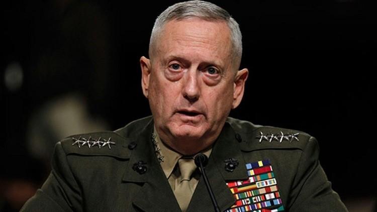 وزير الدفاع الأمريكى جيمس ماتيس
