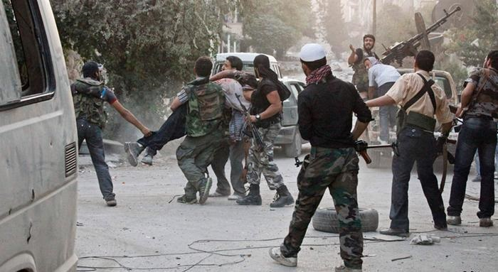 الاشتباكات في شمال سوريا