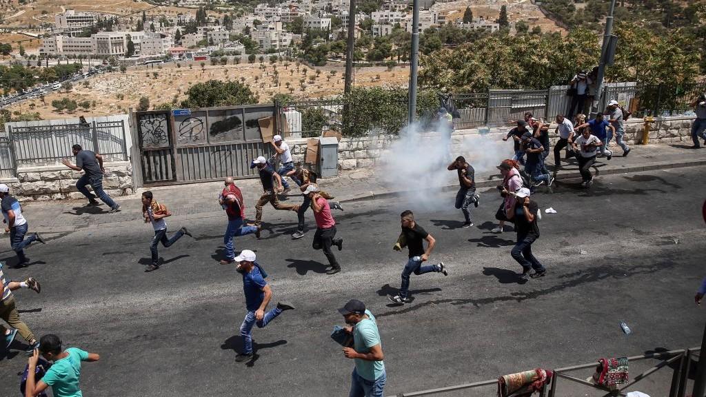 اشتباكات في القدس