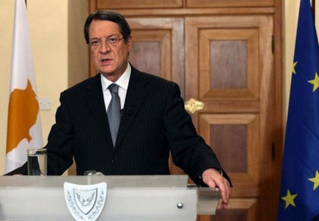رئيس جمهورية قبرص نيكوس أناستاسيادس