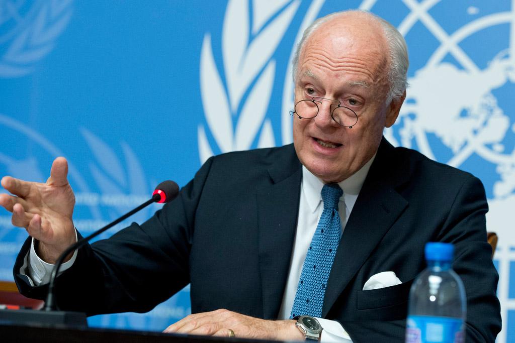 ستافان دي ميستورا مبعوث الأمم المتحدة الخاص بسوريا