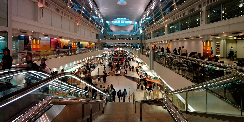 بانوراما مطار دبى
