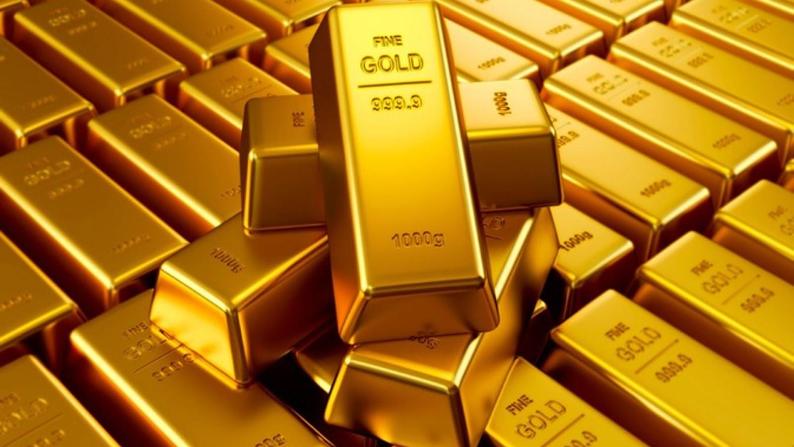 سبائك الذهب .. صورة ارشيفية