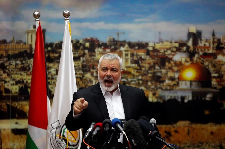 إسماعيل هنية رئيس المكتب السياسي لحركة حماس الفلسطينية