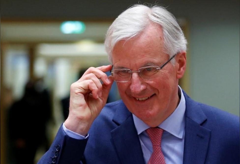 ميشيل بارنييه كبير مفاوضي الاتحاد الأوروبي