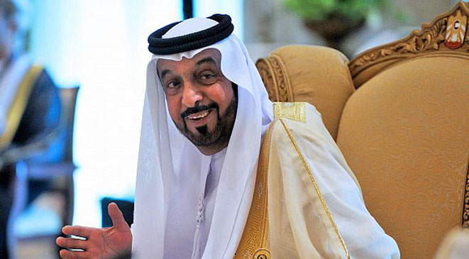 صاحب السمو الشيخ خليفة بن زايد آل نهيان رئيس الدولة