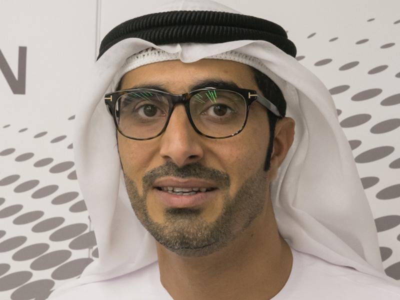 ناصر بن ثاني الهاملي وزير الموارد البشرية والتوطين