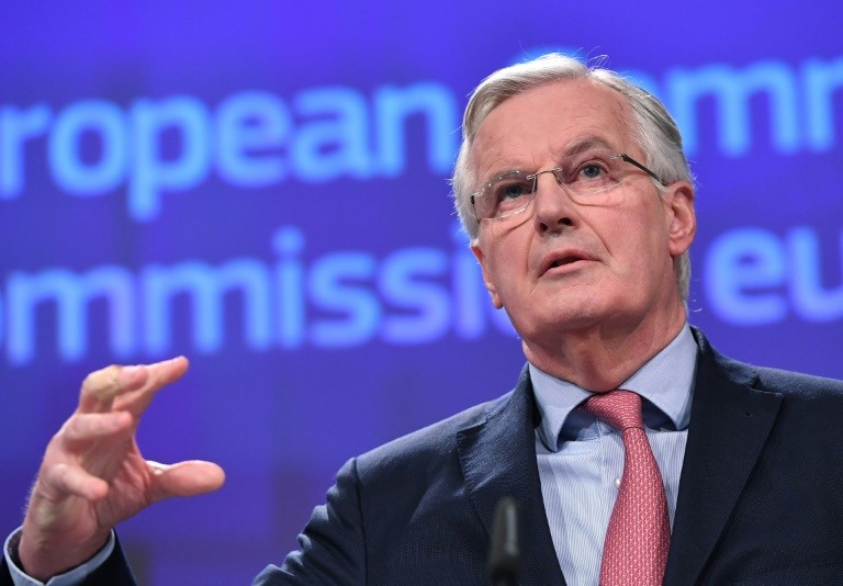 مفاوض الاتحاد الاوروبي الفرنسي ميشال بارنييه