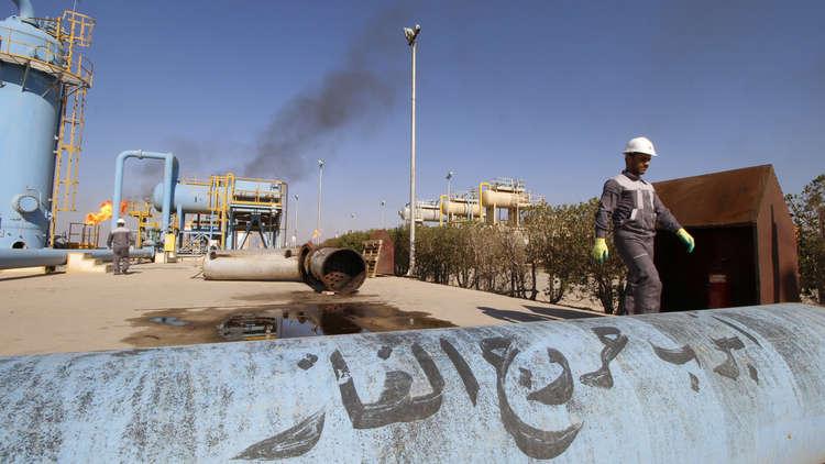 أحد الحقول النفطية في العراق