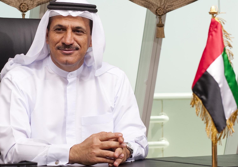 سلطان بن سعيد المنصوري وزير الاقتصاد الإماراتى