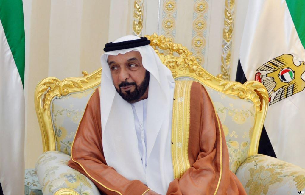 الشيخ خليفة بن زايد آل نهيان رئيس الدولة