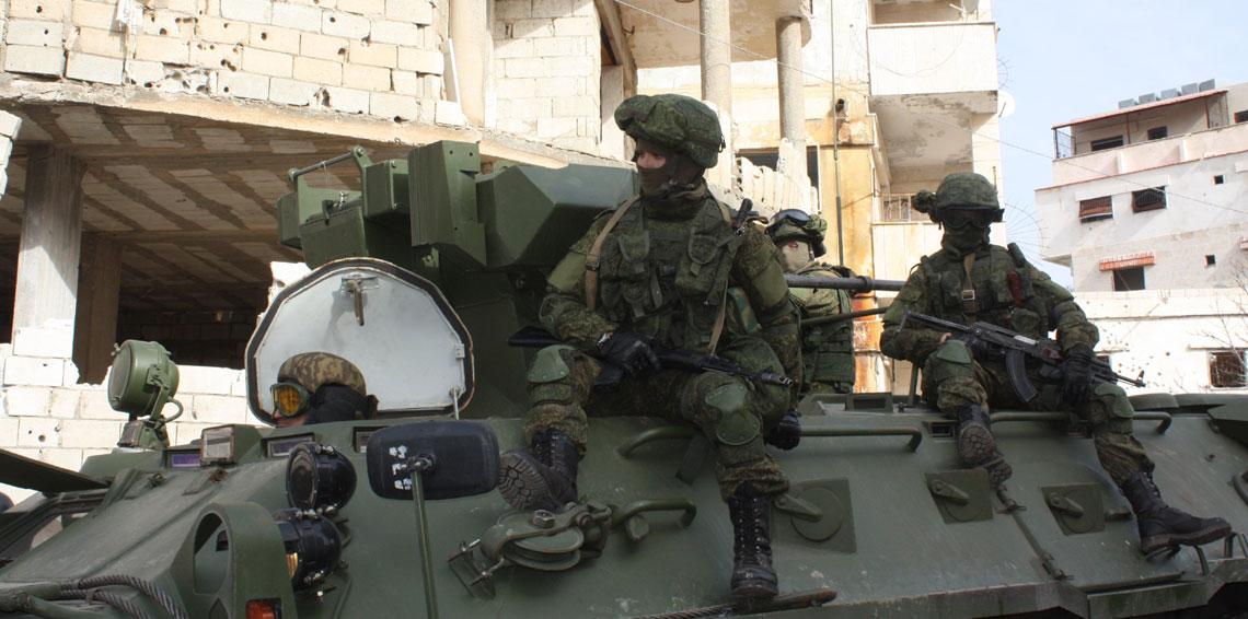 القوات الروسية فى سوريا