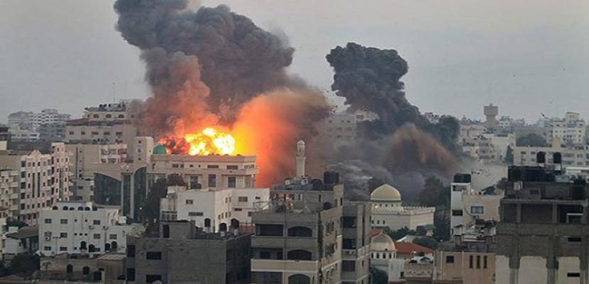 غارات إسرائيلية على قطاع غزة - أرشيفية