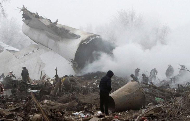 سقوط الطائرة الإيرانية